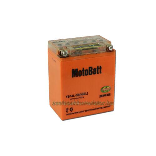 MotoBatt IGEL YB14L-BS I-GEL (YB14L-A2) 12V 14Ah Motor akkumulátor