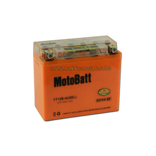 MotoBatt IGEL YT12B-4 I-GEL12V 10Ah Motor akkumulátor