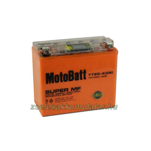 MotoBatt IGEL YT20-4 DS I-GEL12V 18Ah Motor akkumulátor