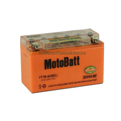 MotoBatt IGEL YT7B-4 I-GEL12V 6,5Ah Motor akkumulátor