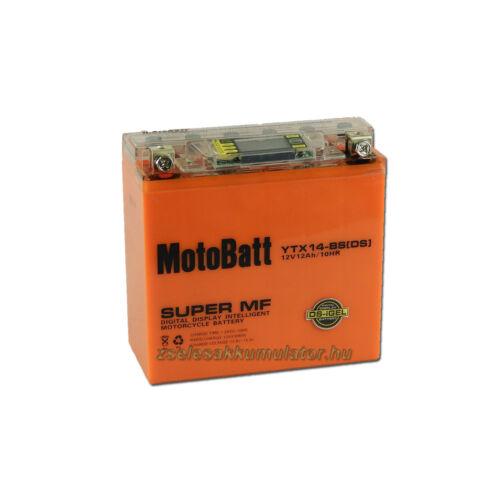 MotoBatt IGEL YTX14-BS I-GEL 12V 12Ah Motor akkumulátor