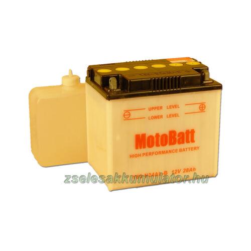 MotoBatt Y60N24AL-B (sav csomagos) 12V 24Ah Motor akkumulátor