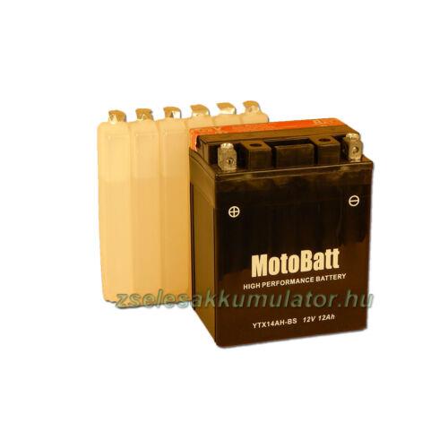 MotoBatt YTX14AH-BS 12V 12Ah Motor akkumulátor