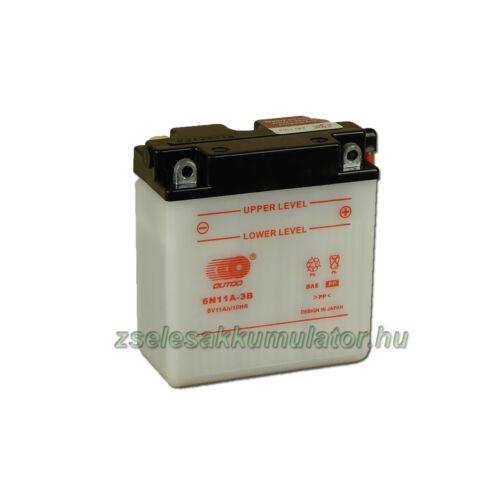 OUTDO 6N11A-3B 6V 11Ah Motor akkumulátor