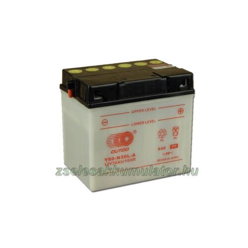 OUTDO Y60-N30L-A 12V 30Ah Motor akkumulátor