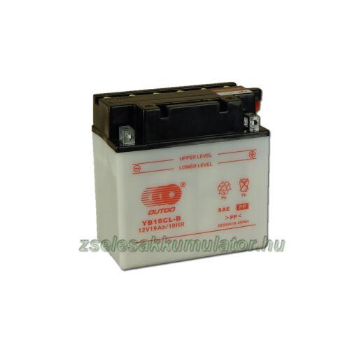 OUTDO YB16CL-B 12V 19Ah Motor akkumulátor