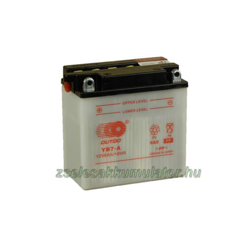 OUTDO  YB7-A 12V 8Ah Motor akkumulátor
