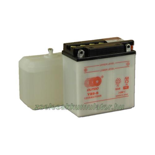 OUTDO YB9-B (sav csomagos) 12V 9Ah Motor akkumulátor