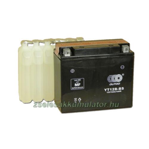 OUTDO YT12B-BS 12V 11Ah Motor akkumulátor