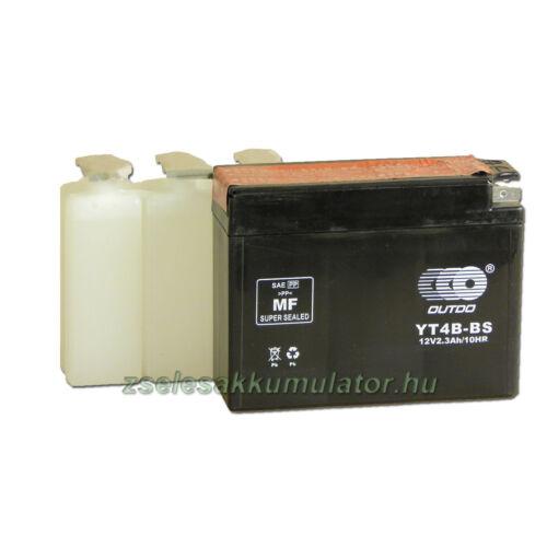 OUTDO YT4B-BS 12V 2,3Ah Motor akkumulátor