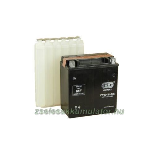 OUTDO YTX16-BS 12V 14Ah Motor akkumulátor
