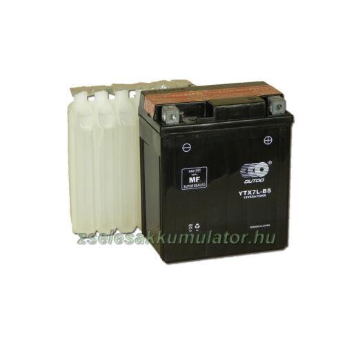 OUTDO YTX7L-BS 12V 6Ah Motor akkumulátor