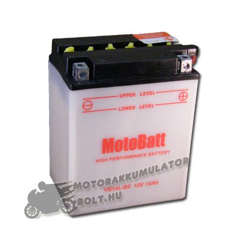 MotoBatt YB14L-B2 12V 14Ah Motor akkumulátor
