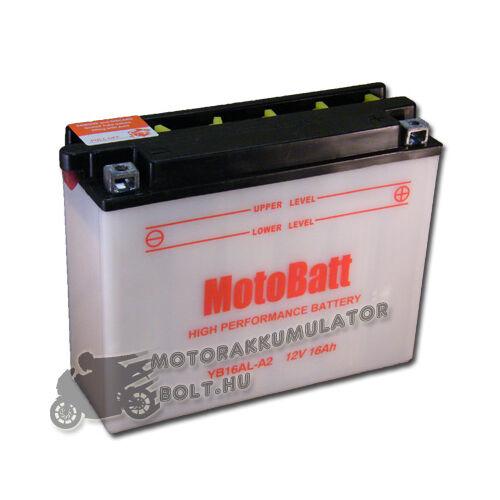 MotoBatt YB16AL-A2 12V 16Ah Motor akkumulátor