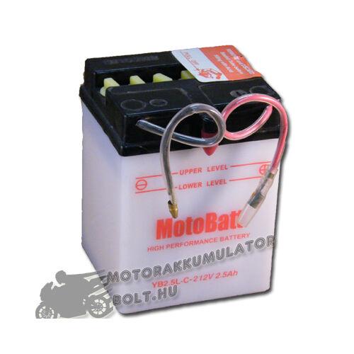 MotoBatt YB2,5L-C-2 12V 2,5Ah Motor akkumulátor