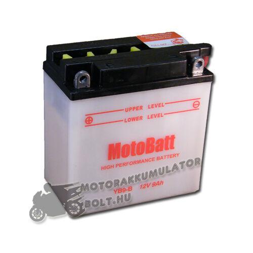 MotoBatt YB9-B 12V 9Ah Motor akkumulátor