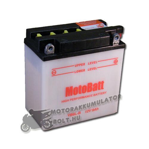 MotoBatt YB9L-B 12V 9Ah Motor akkumulátor