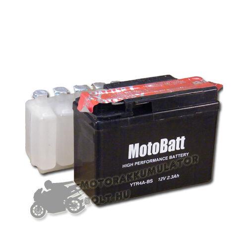 MotoBatt YTR4A-BS 12V 2,3Ah Motor akkumulátor