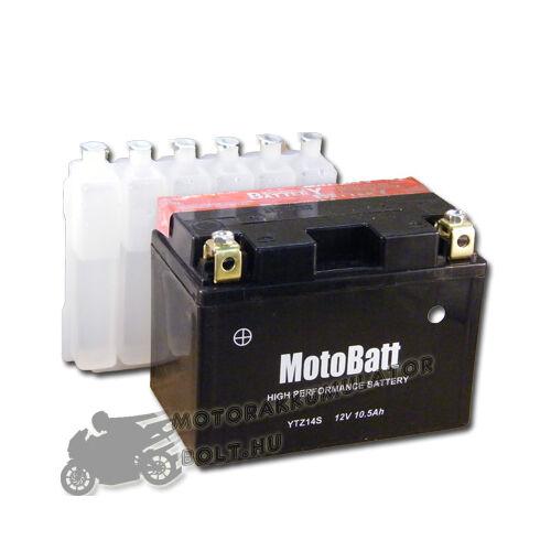 MotoBatt YTZ14-S 12V 11,2Ah Motor akkumulátor