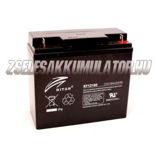 Ritar 12V 18Ah Zselés akkumulátor