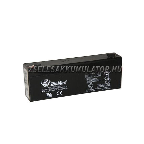 Diamec 12V 2,2Ah Zselés akkumulátor