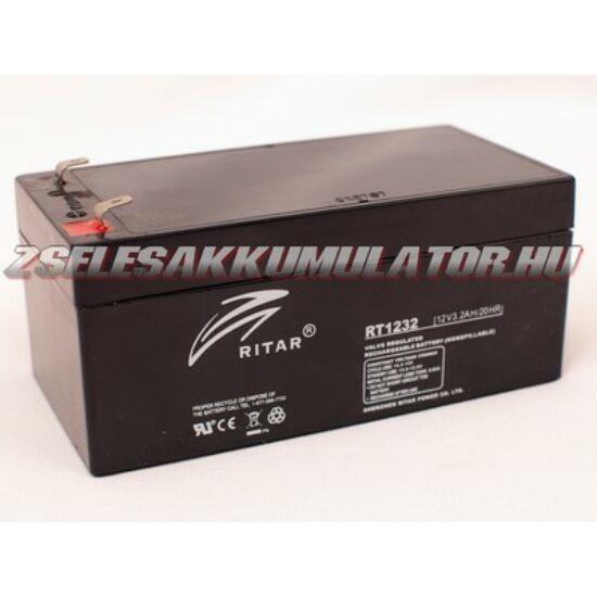 Ritar 12V 3,2Ah Zselés akkumulátor