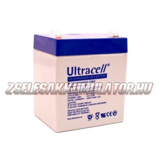 Ultracell 12V 4Ah Zselés akkumulátor