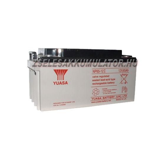 Yuasa 12V 65Ah Zselés akkumulátor