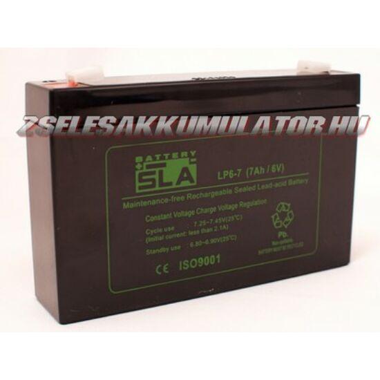 APC SLA 6V 7Ah Zselés akkumulátor