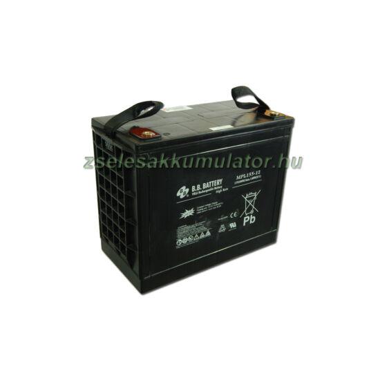 BB Battery 12V 155Ah Zselés akkumulátor MPL155-12