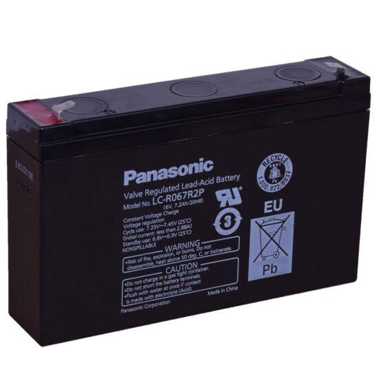 Panasonic 6V 7,Ah Zselés akkumulátor