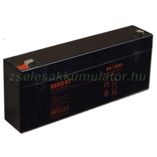 RedDot 12V 2,2Ah Zselés akkumulátor