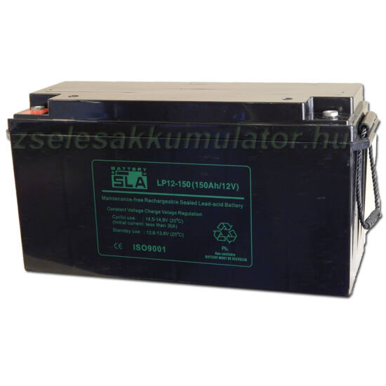 SLA 12V 150Ah Zselés akkumulátor LP12-150