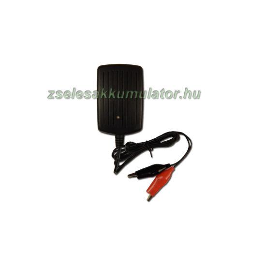 12V 1A zselés akkumulátor töltő