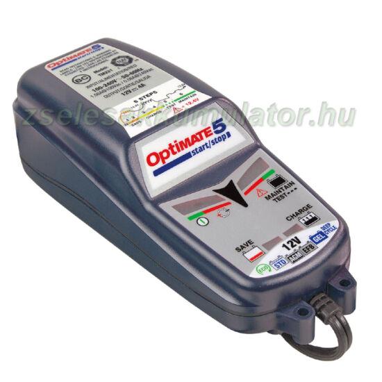 TecMate Optimate 5 start stop akkumulátor töltő