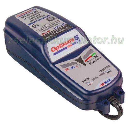 TecMate Optimate 5 voltmatic akkumulátor töltő