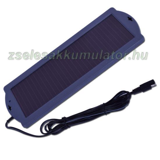 Szolár napelemes töltő 12V 1,5W
