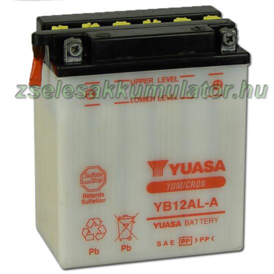 Yuasa YB12AL-A 12V 12Ah Motor akkumulátor