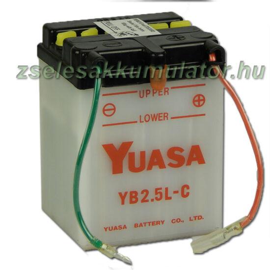 Yuasa YB2,5L-C 12V 2,5Ah Motor akkumulátor