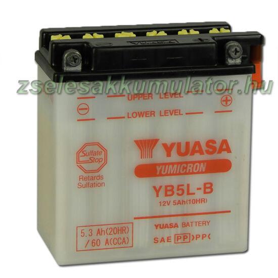 Yuasa YB5L-B 12V 5Ah Motor akkumulátor