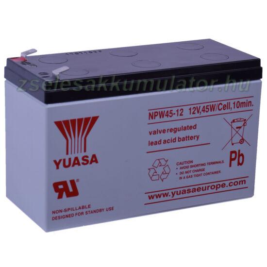 Yuasa NPW45-12 akkumulátor