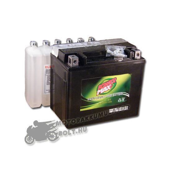 Power Max GTX12-BS 12V 10Ah Motor akkumulátor