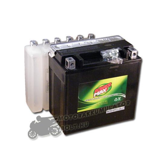 Power Max GTX14-BS 12V 12Ah Motor akkumulátor