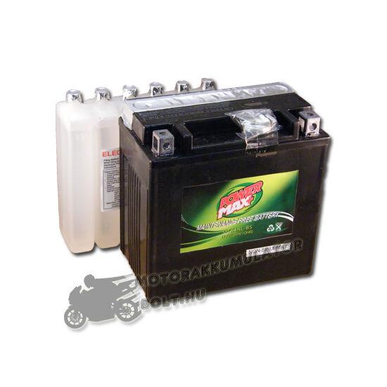 Power Max GTX14L-BS 12V 12Ah Motor akkumulátor
