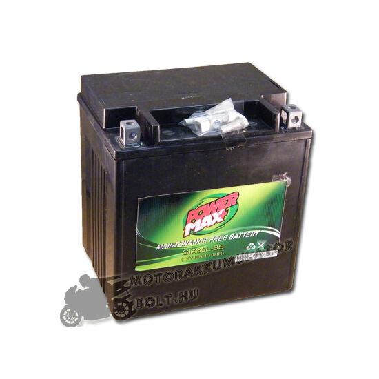 Power Max GTX30L-BS 12V 27,5Ah Motor akkumulátor