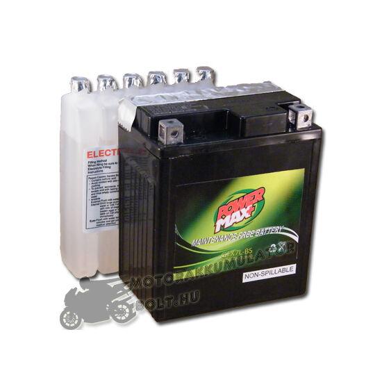Power Max GTX7L-BS 12V 7Ah Motor akkumulátor