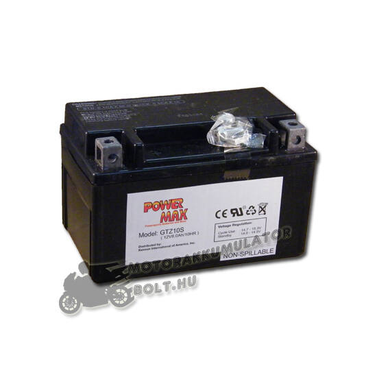 Power Max GTZ10-S 12V 8,6Ah Motor akkumulátor