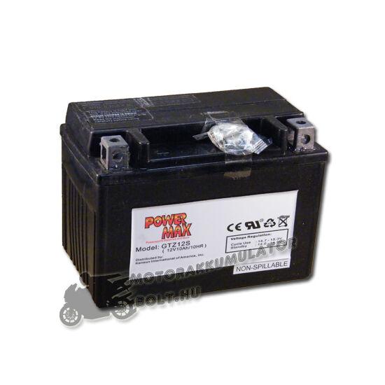 Power Max GTZ12-S 12V 11Ah Motor akkumulátor