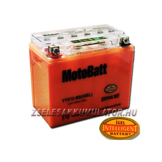 MotoBatt IGEL YTX12-BS I-GEL 12V 10Ah Motor akkumulátor