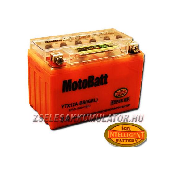 MotoBatt IGEL YTX12A-BS I-GEL 12V 9,5Ah Motor akkumulátor